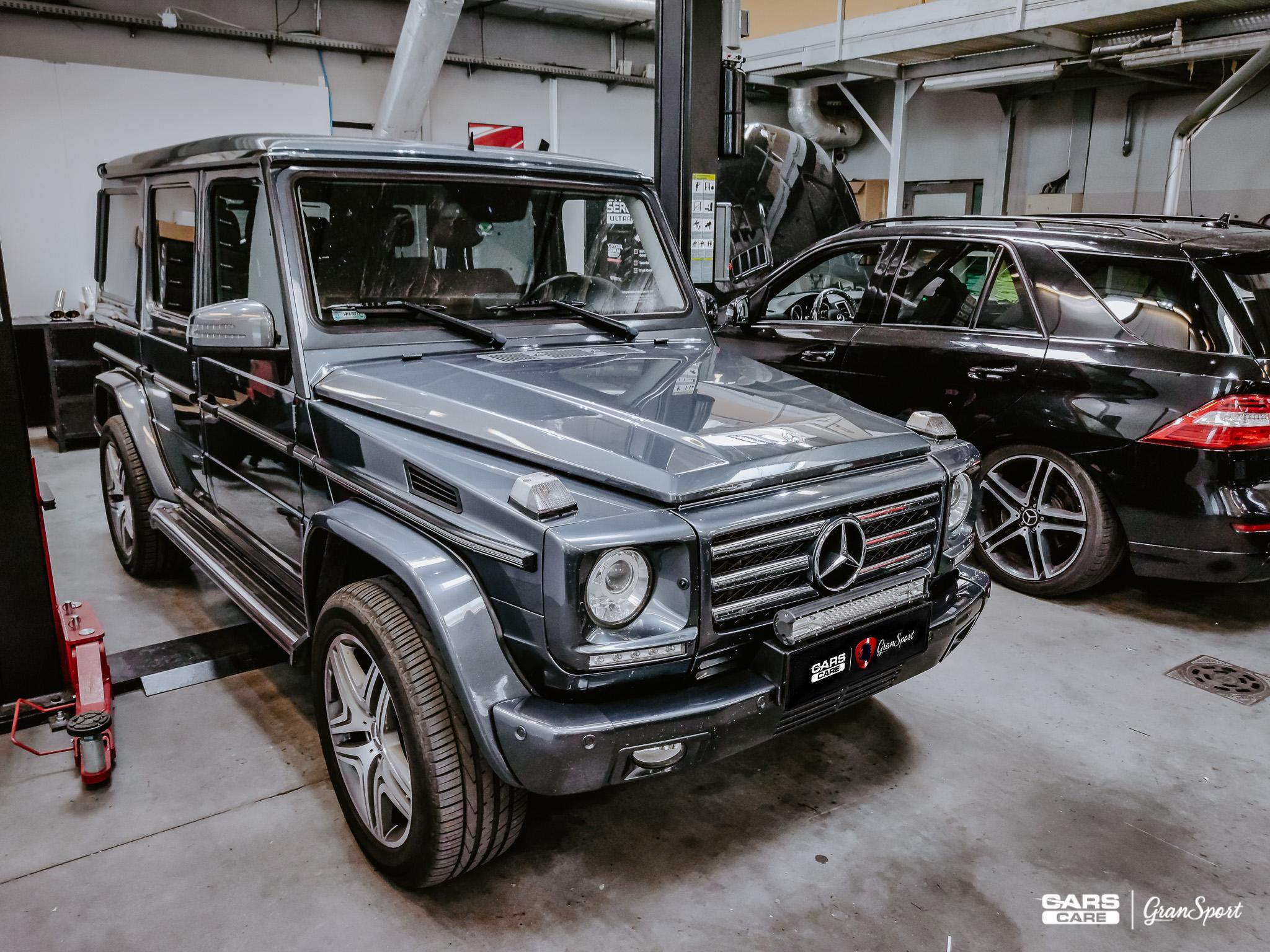 Mercedes G Maxhaust