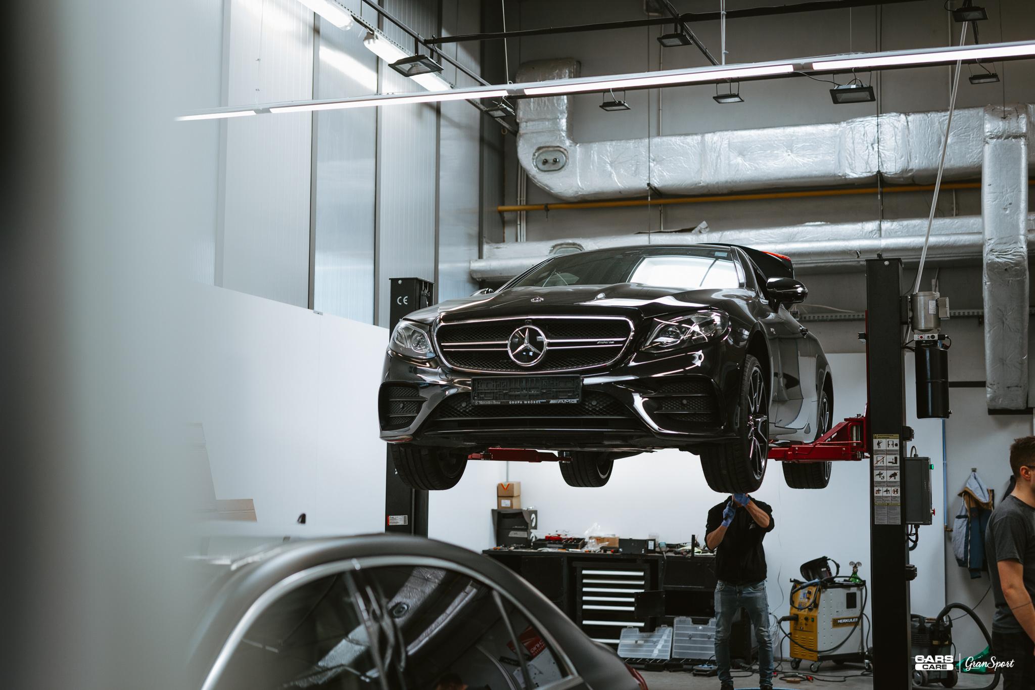 Mercedes E 53 AMG Maxhaust