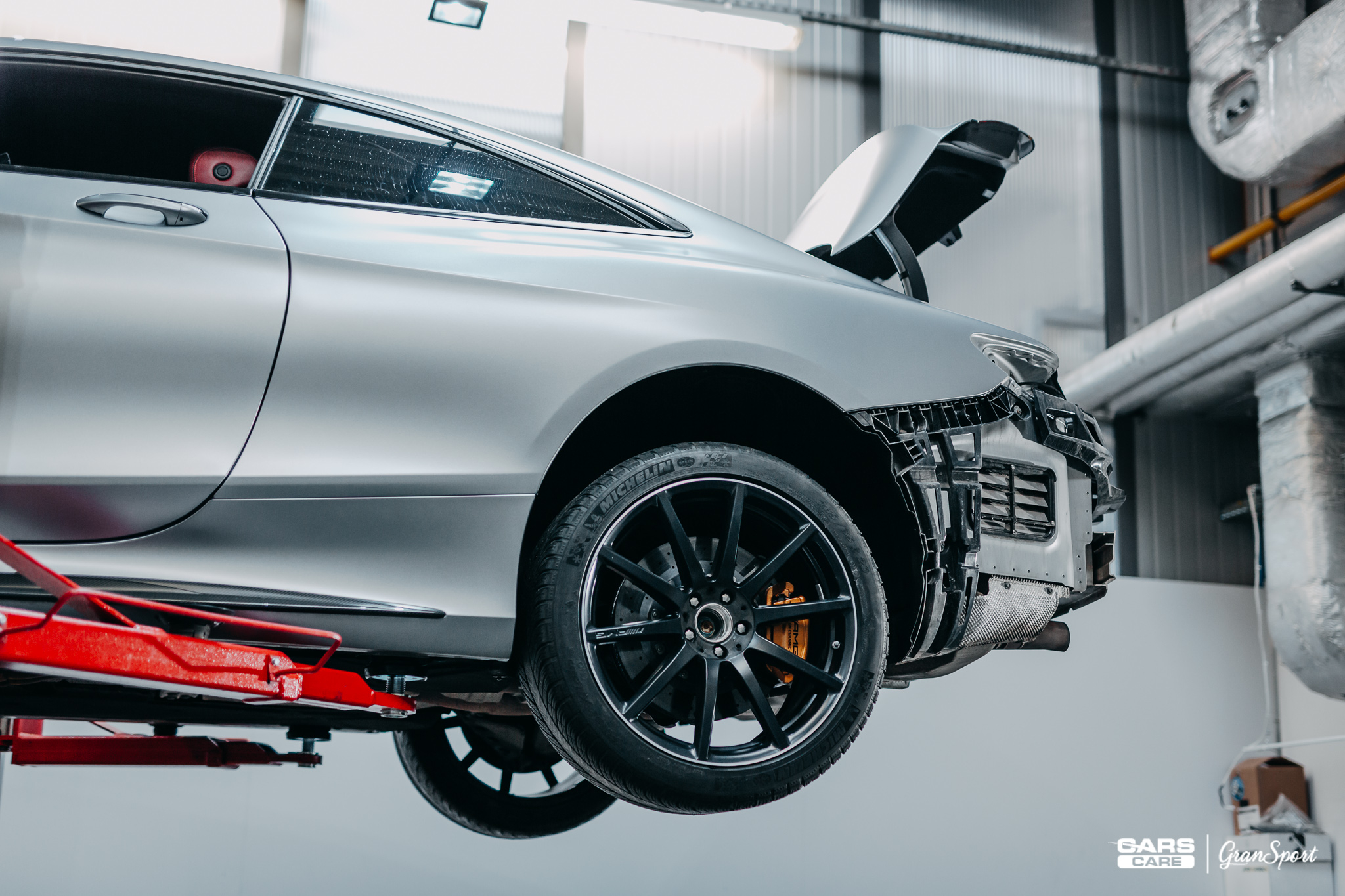 Mercedes S 63 AMG Coupe Brabus
