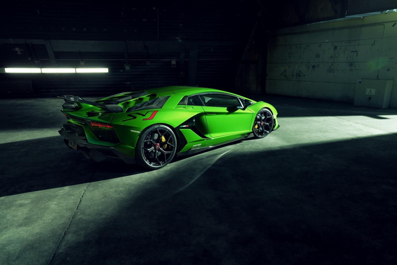 Lamborghini Aventador SVJ Novitec