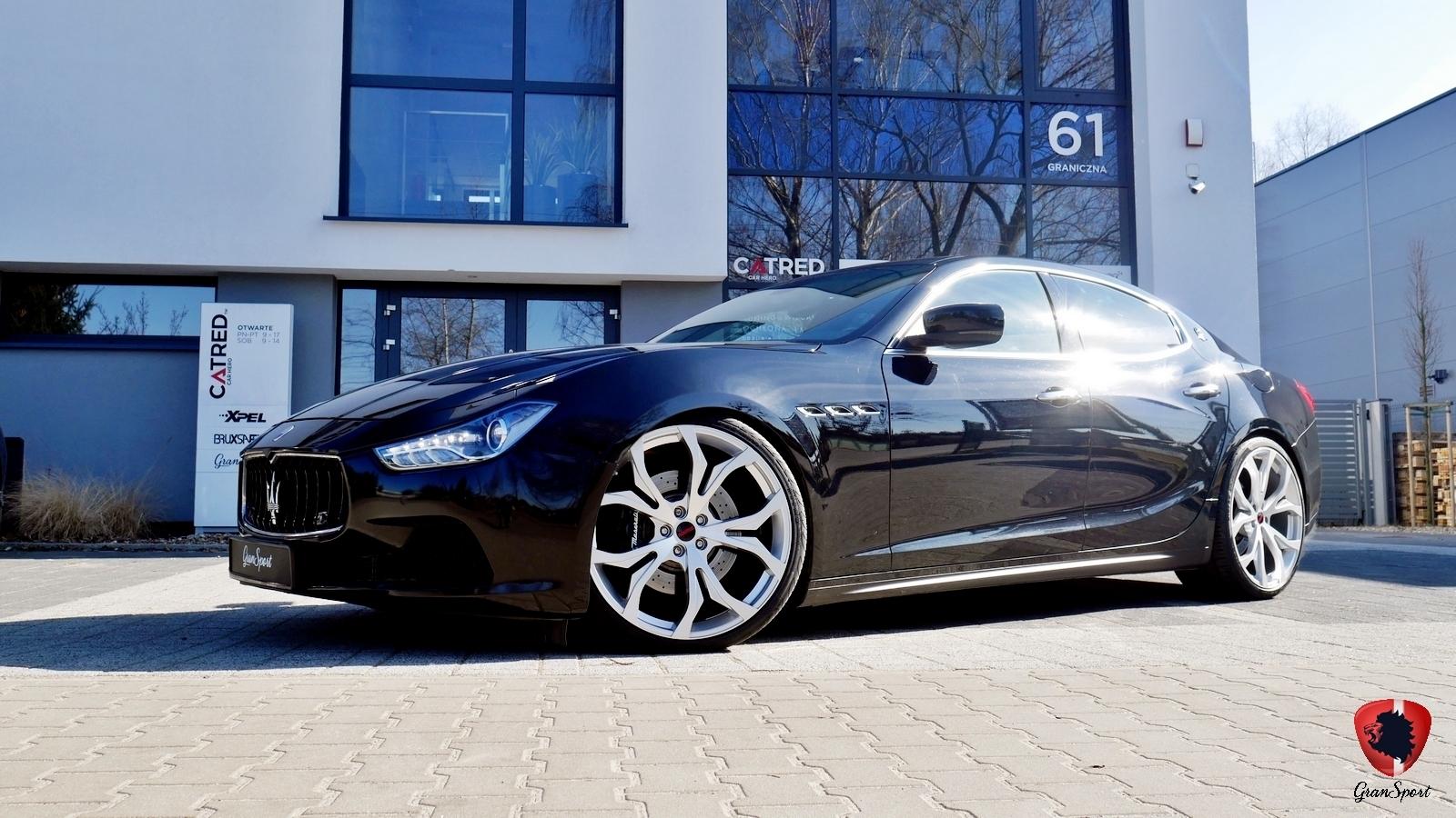 Maserati Ghibli SQ4 Novitec Tridente