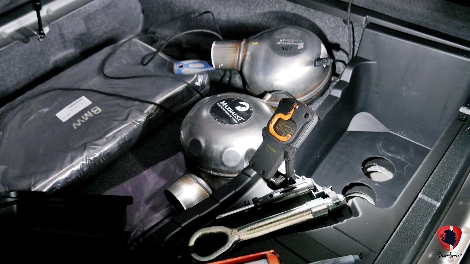BMW X6 M50d F16 Maxhaust