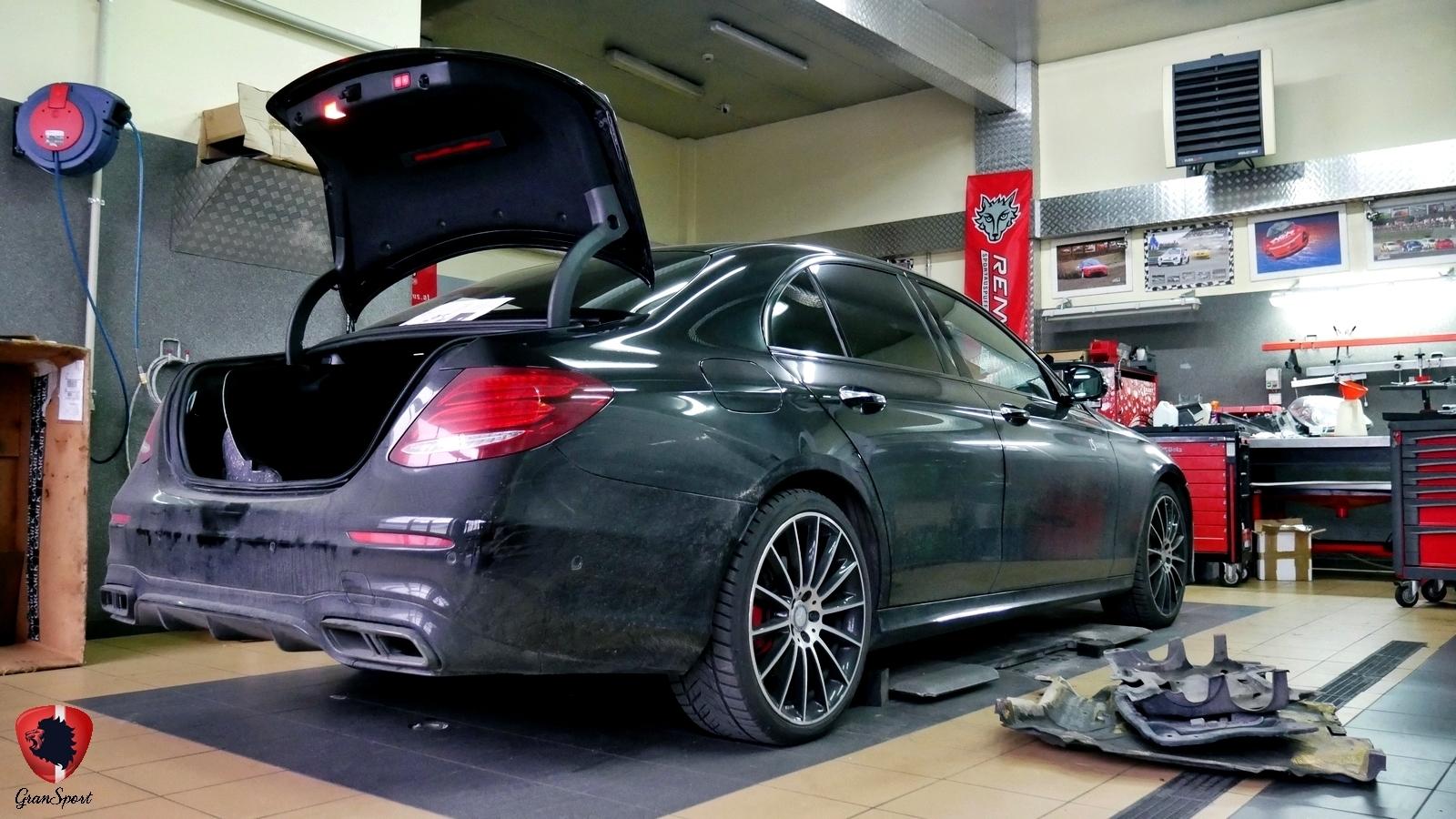 Mercedes E350d W213 Remus / Maxhaust