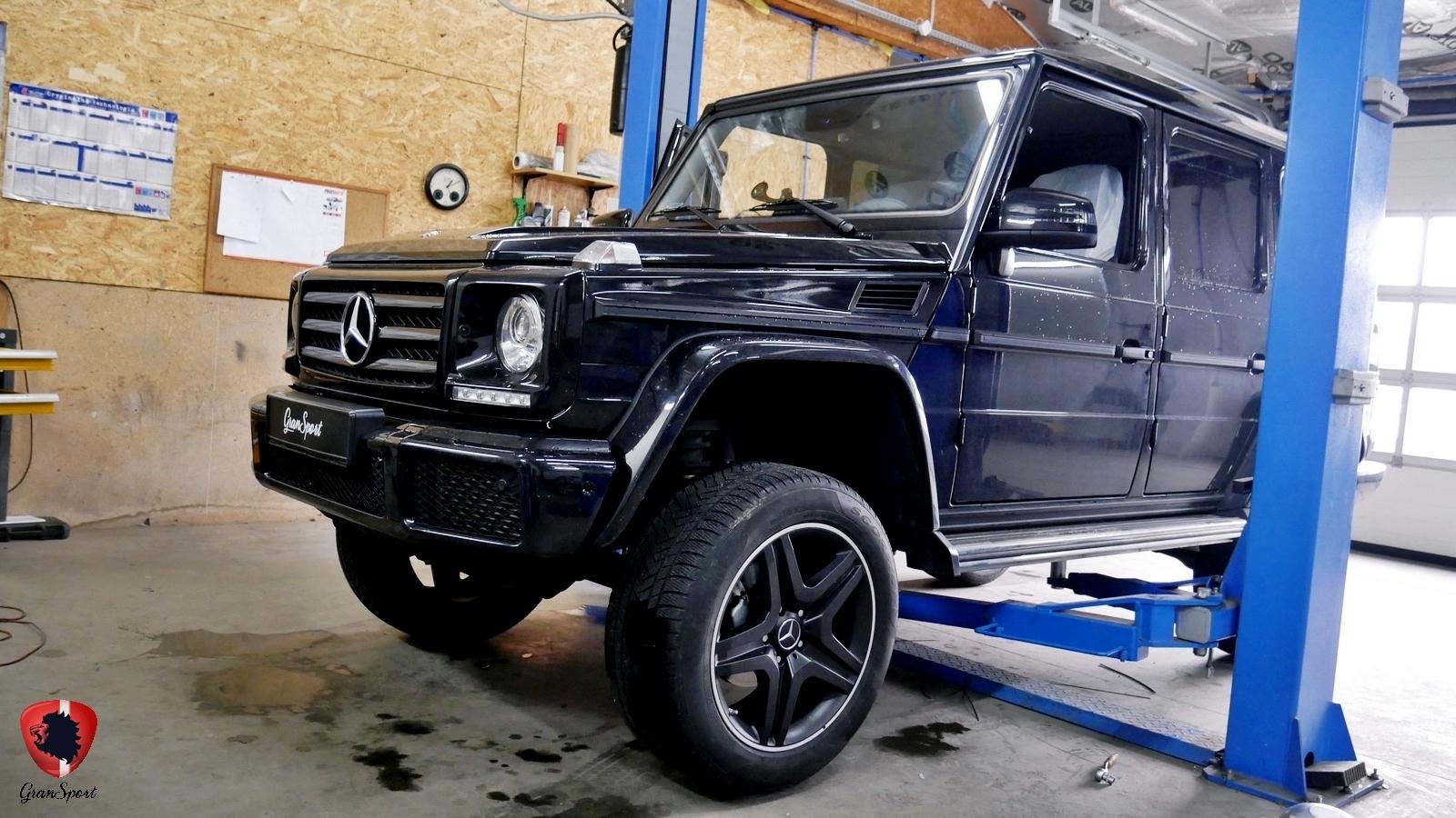 Mercedes-Benz Klasy G Maxhaust