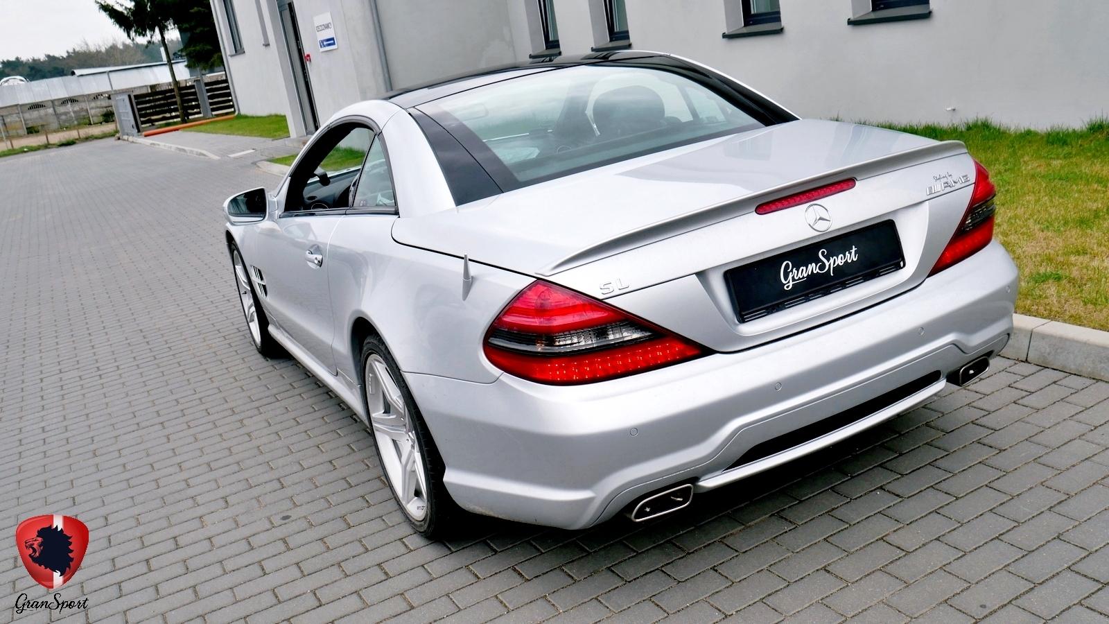Mercedes SL Maxhaust