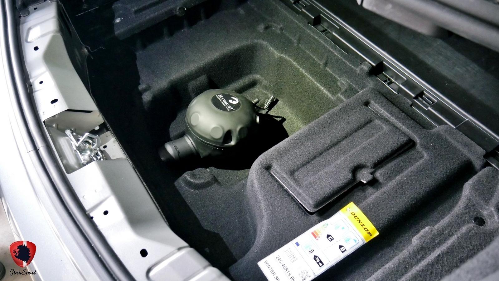 Mercedes E Coupe Maxhaust