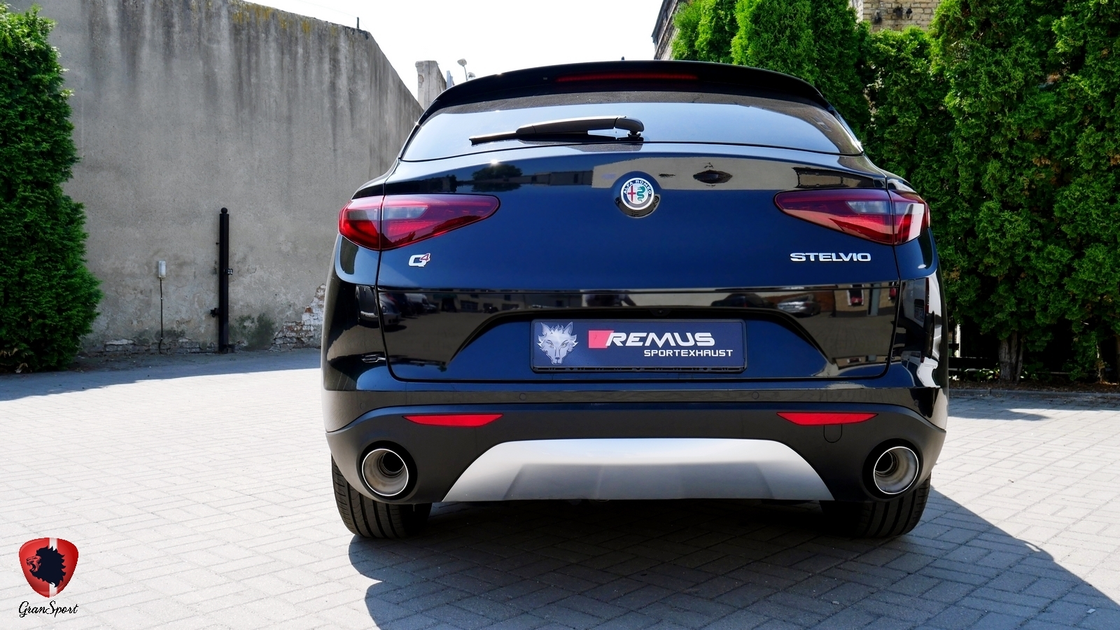 Alfa Romeo Stelvio Remus