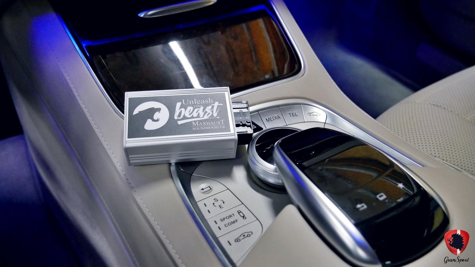 Mercedes-Benz Klasy S Maxhaust