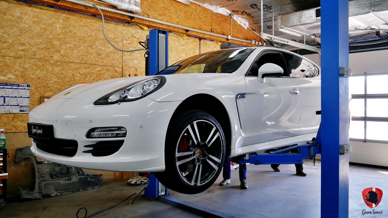 Porsche Panamera Diesel Maxhaust
