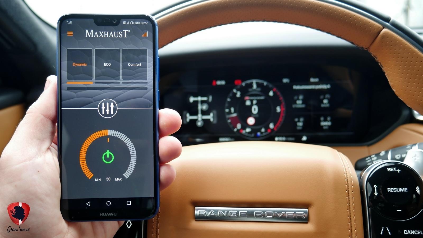 Range Rover Velar Maxhaust