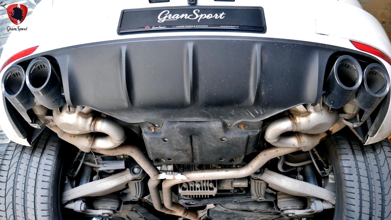 Porsche Macan Diesel S Maxhaust