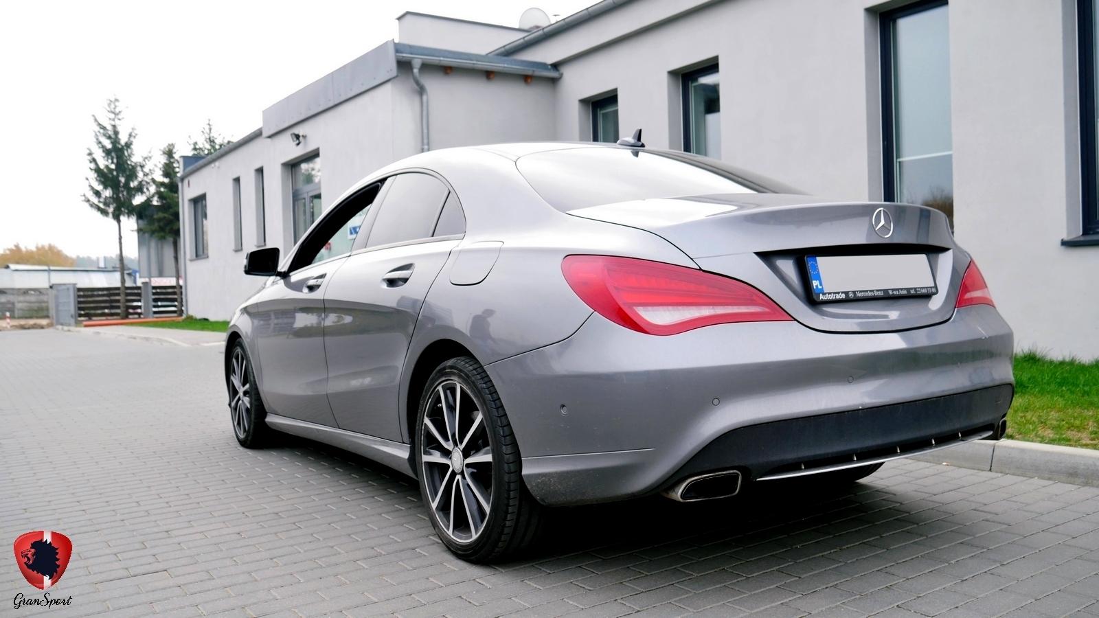 Mercedes CLA Maxhaust
