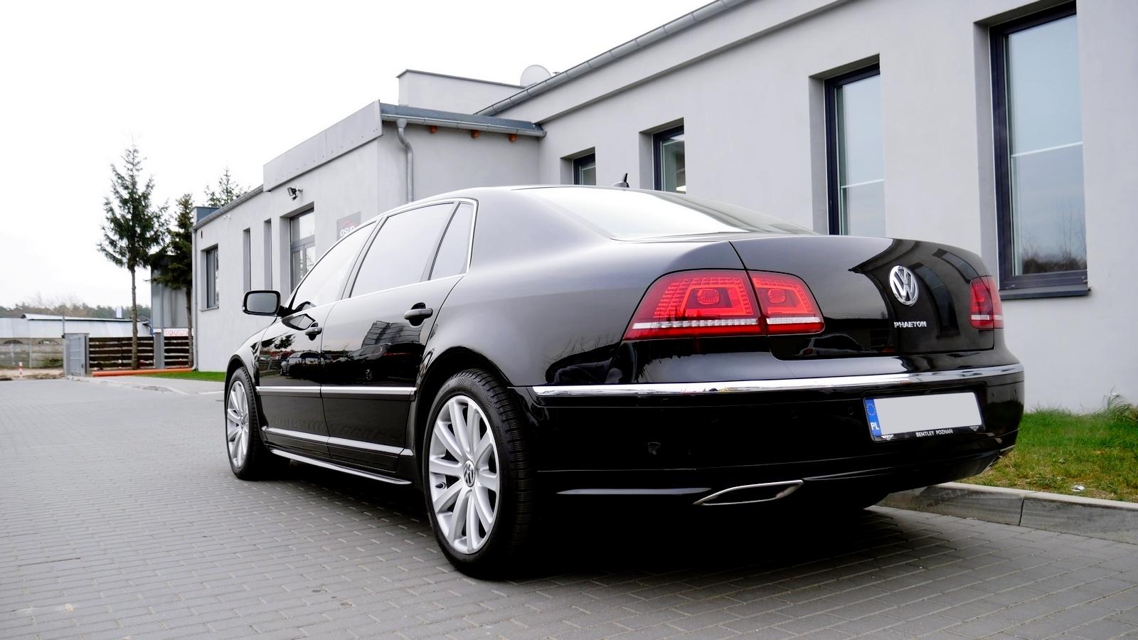 VW Phaeton Maxhaust