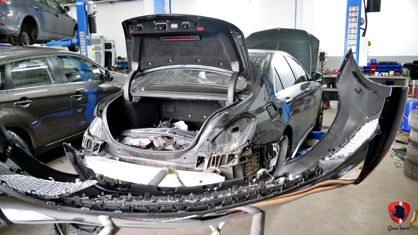 Mercedes S 500 V222