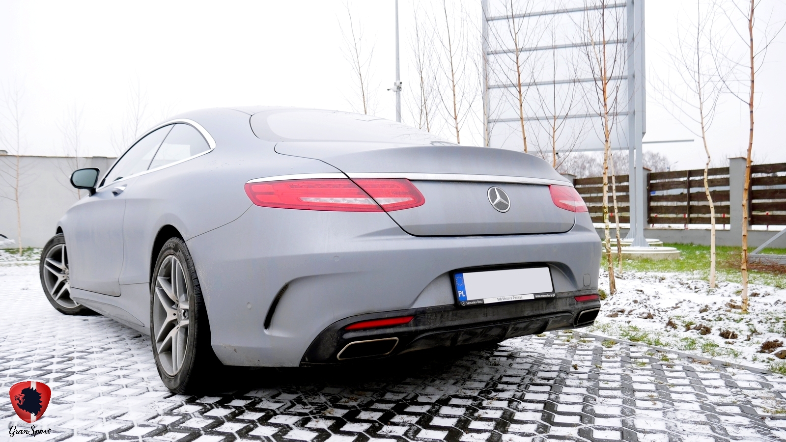 Mercedes S Coupe Maxhaust