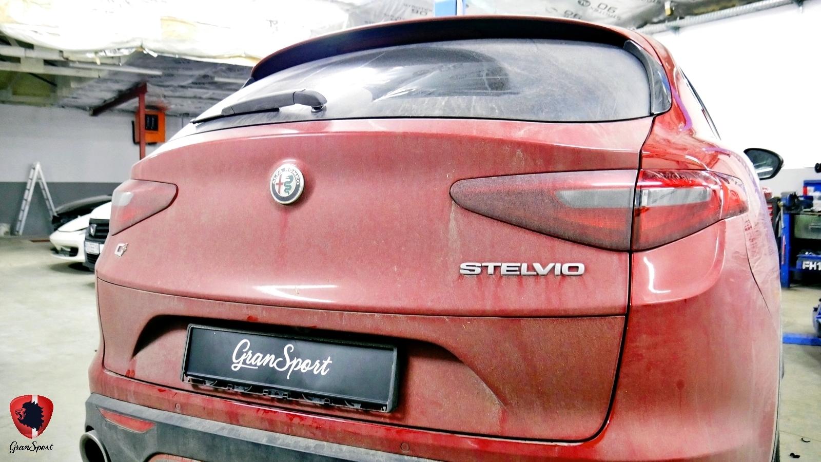 Alfa Romeo Stelvio Maxhaust