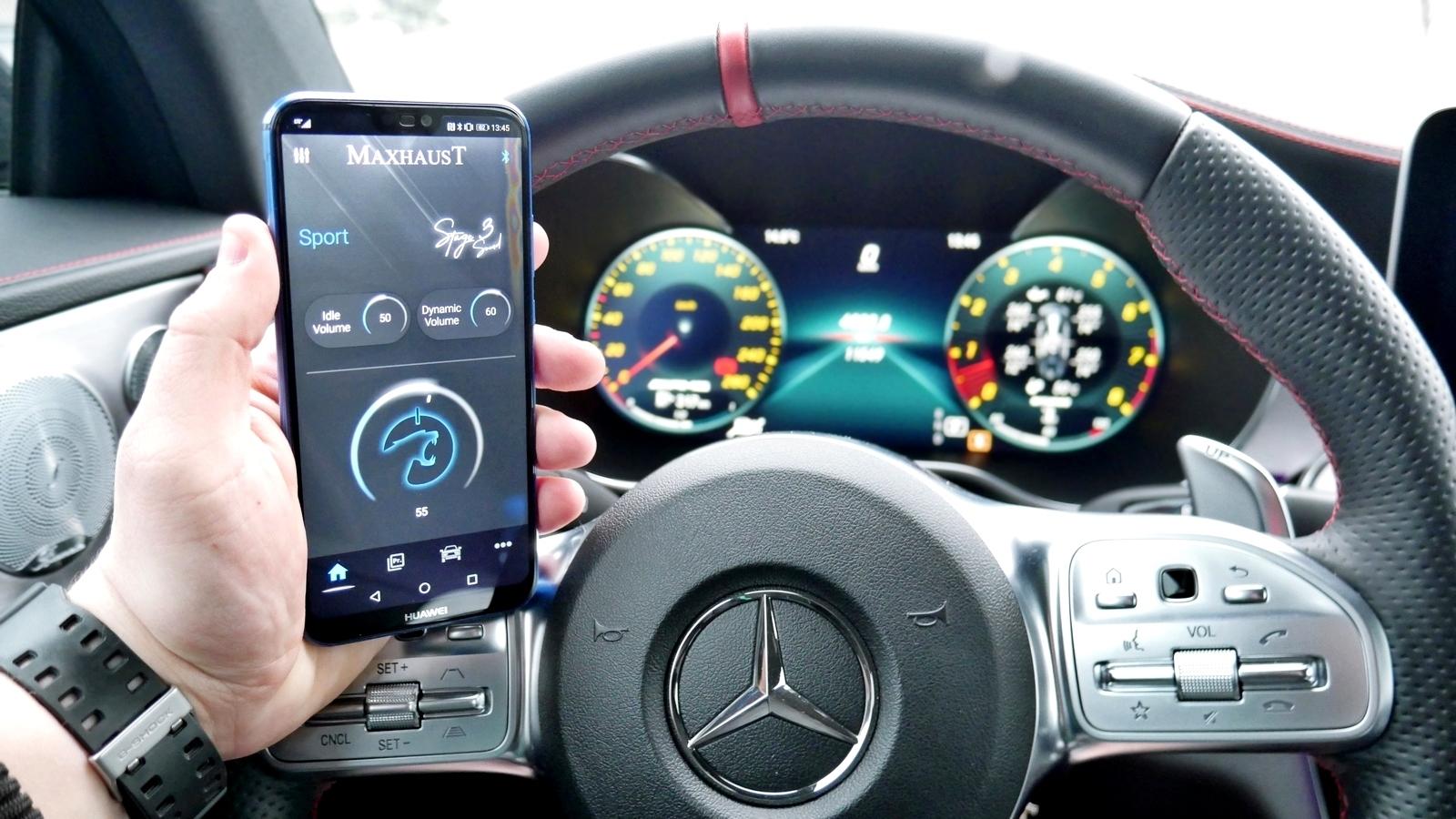 Mercedes C 43 AMG Maxhaust