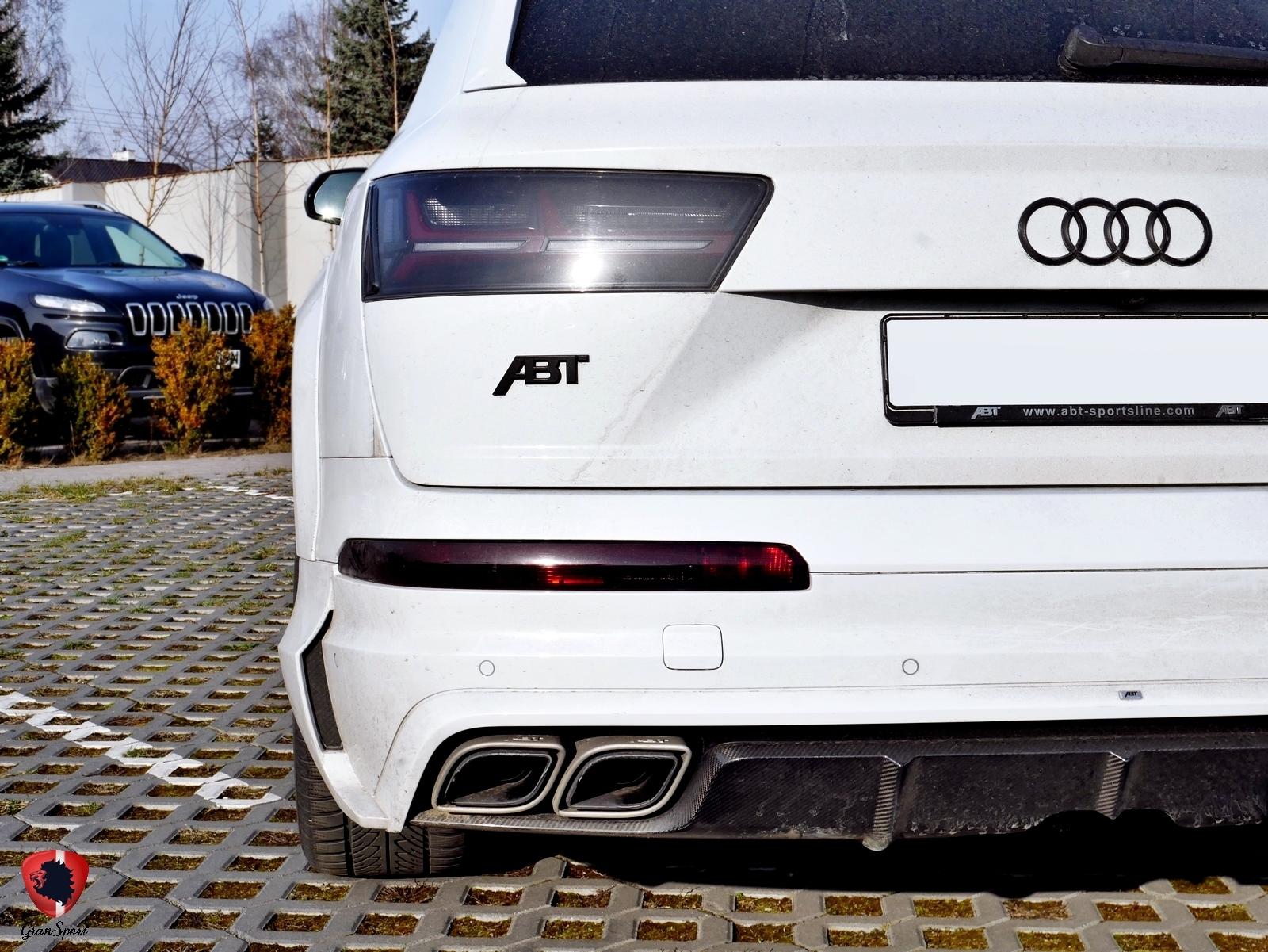 ABT SQ7 Maxhaust
