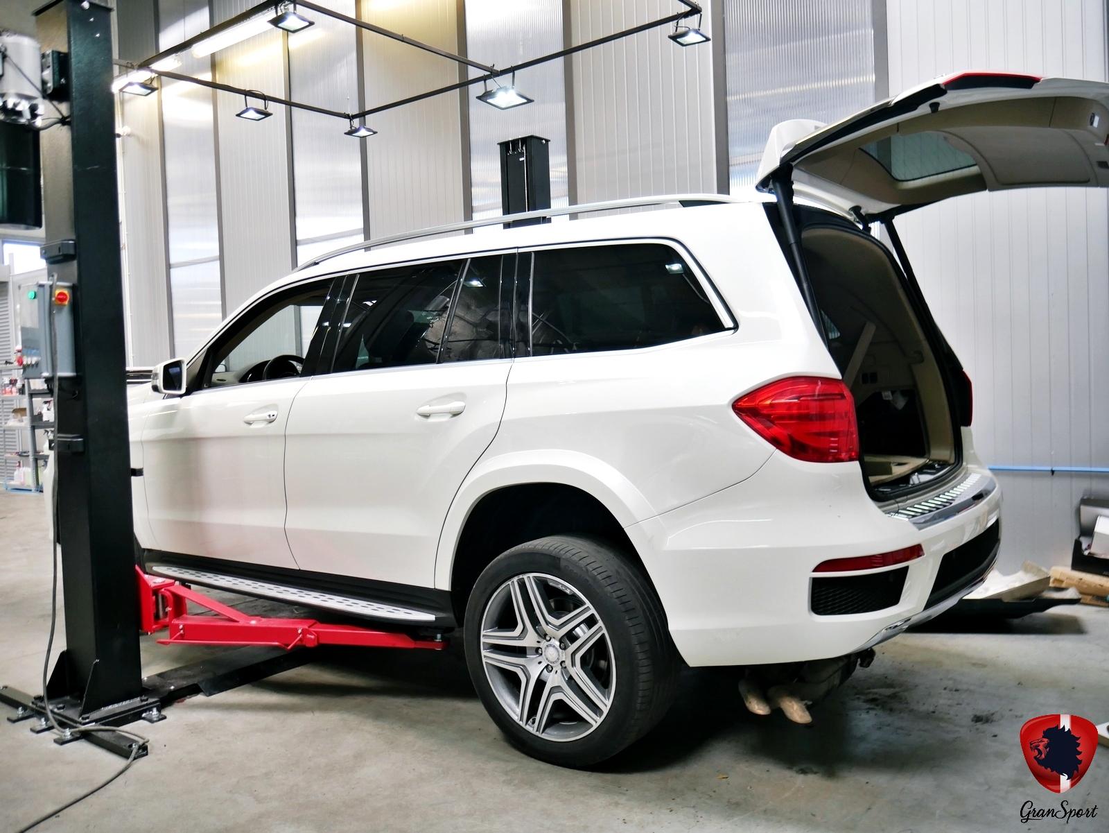 Mercedes GL Maxhaust