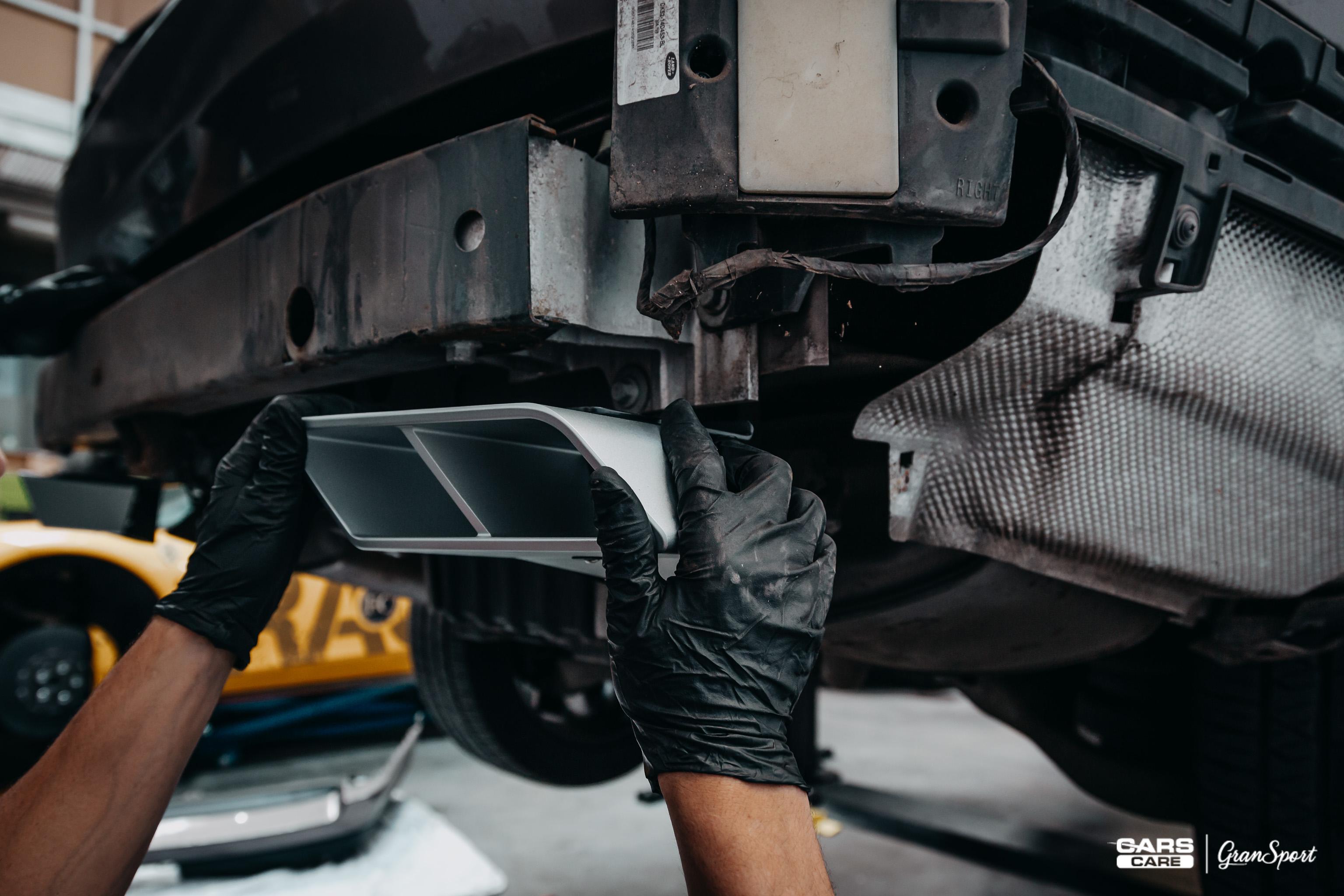 Range Rover Startech Maxhaust