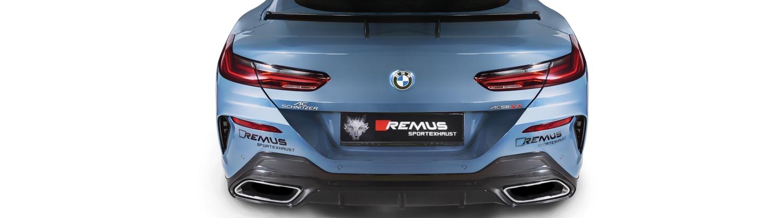 BMW 8 Remus