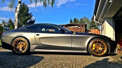 Hamann/Quicksilver/Strasse Wheels Ferrari 612 Scaglietti