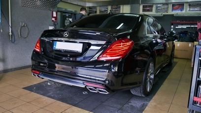 Bodykit 63 AMG + Carlsson Mercedes-Benz Klasy S