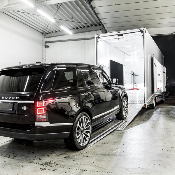 Transport samochodów luksusowych - GranSport